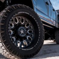 We offer a wide selection of custom wheels and tires.